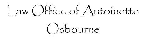 Law Office of Antoinette Osbourne