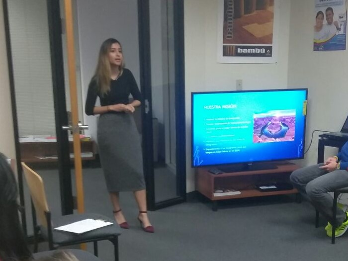 Alexia Carrera Presents at Consulate of Ecuador