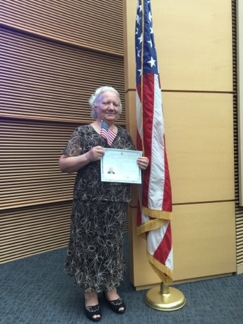 Mrs. H became a U.S. citizen on October 5, 2018 in Phoenix, AZ