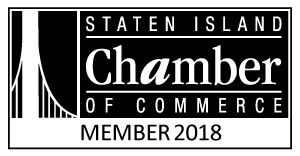 Staten Island Chamber of Commerce 2018 Logo BW Landscape