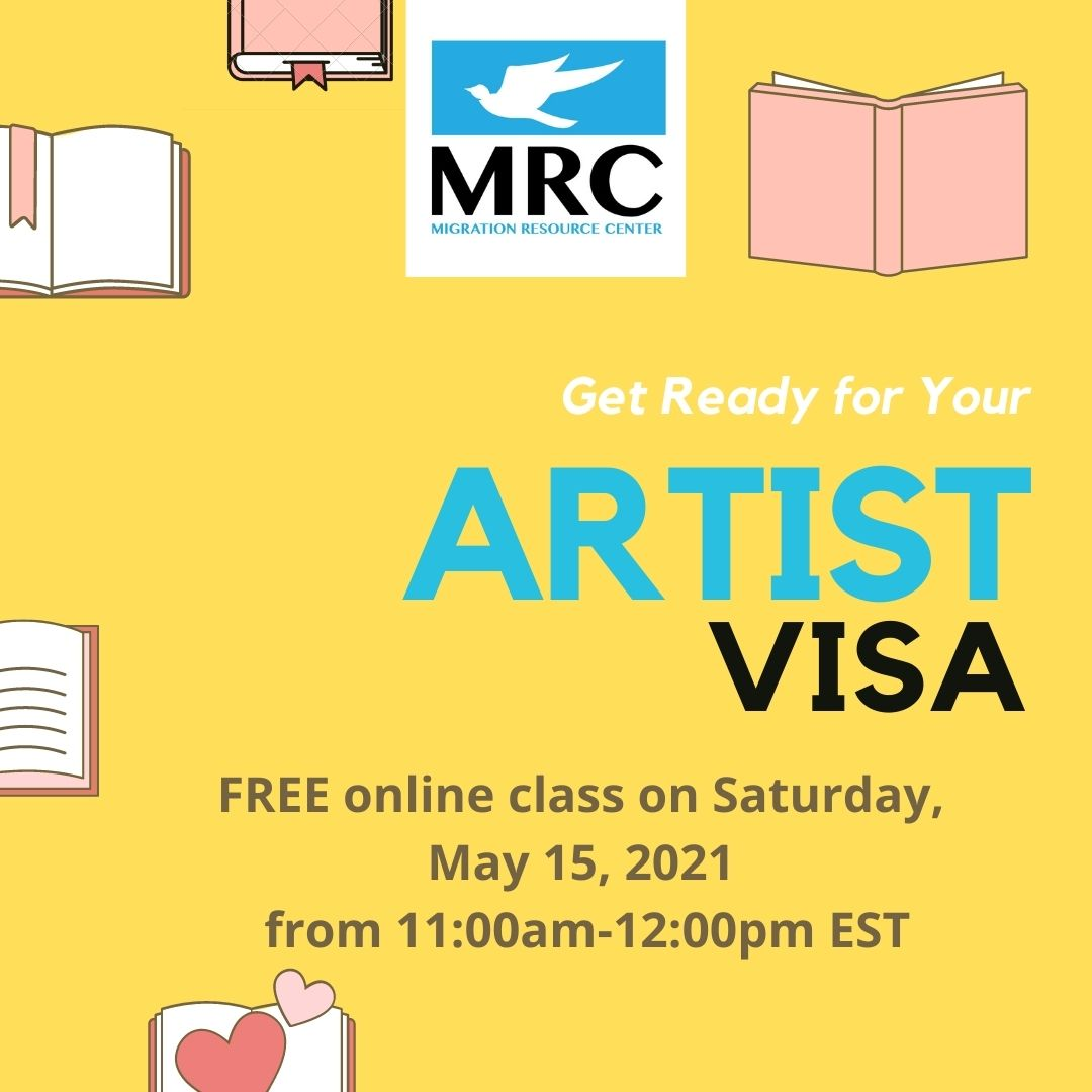 artist-visa-workshop-2021-05-15 | Migration Resource Center