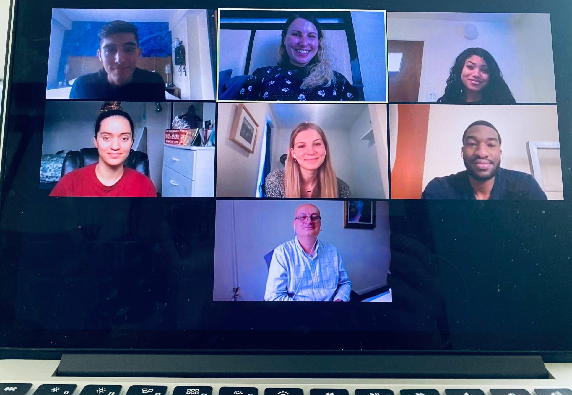 Summer Interns Team Video Call 2021 | Migration Resource Center